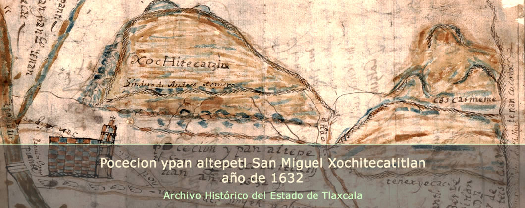 Pocecion ypan altepetl San Miguel Xochitecatitlan