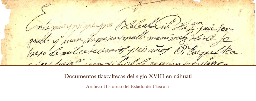 Documentos tlaxcaltecas